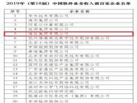 工信部公布2019年软件业务收入百强 海信第五