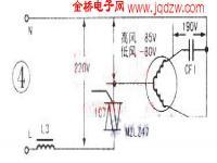 志高牌KFR-32D/A空调器控制电路分析