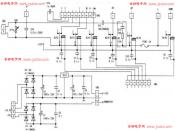 格力KF-20GW分体式空调微电脑控制电路原理