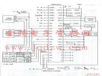TMP87CH33N应用电路图