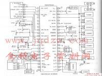 TMP87CM36N系统框图(电路图)