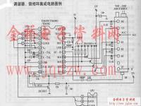 TMP87CH33N调谐器,锁相环集成电路图例